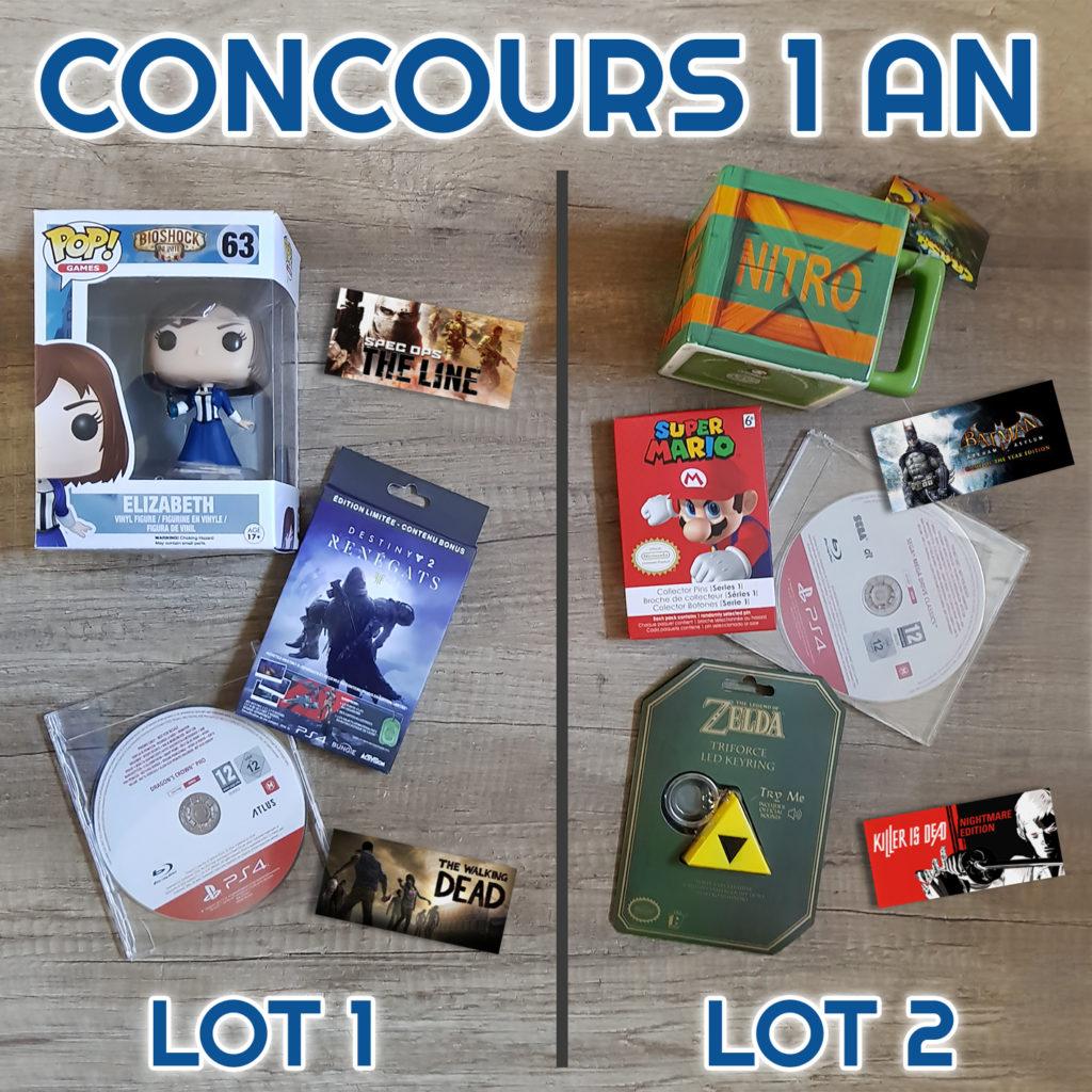 Concours Instagram anniversaire site Noopinho Games