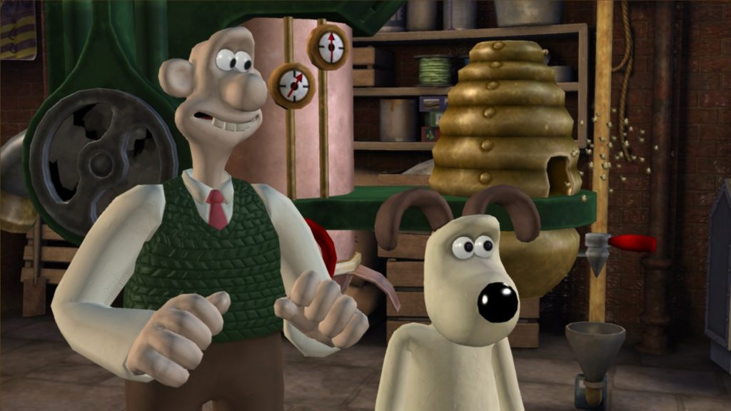 Wallace et Grommit