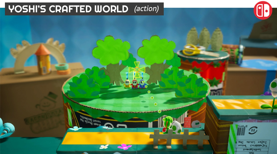 Yoshi's Crafter World