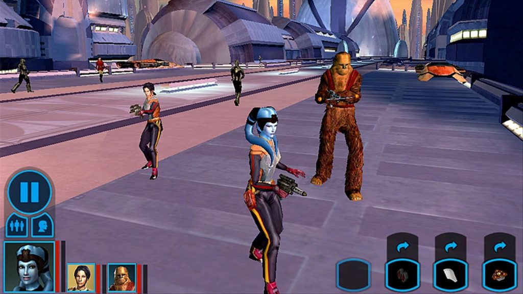 mass effect KOTOR