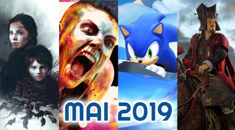 calendrier des sorties mai 2019