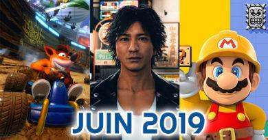 calendrier des sorties juin 2019