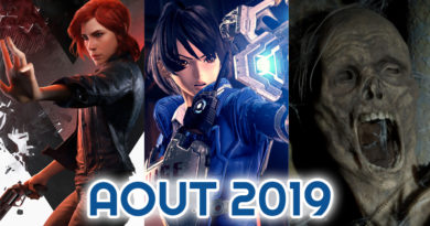 sorties aout 2019
