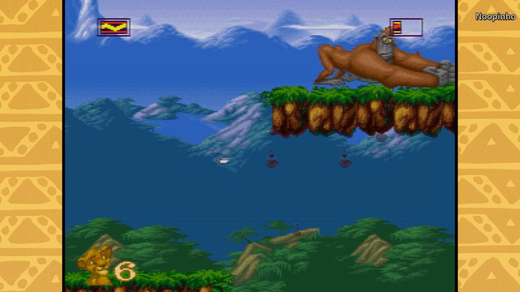 Disney Classic Games Le Roi Lion