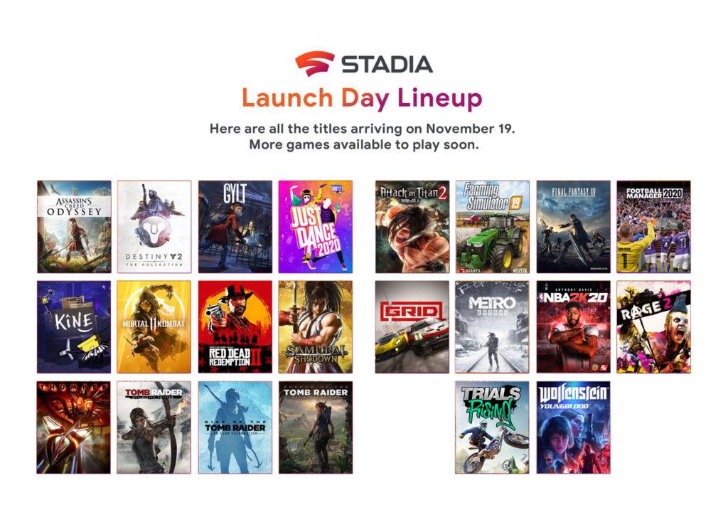 stadia lineup