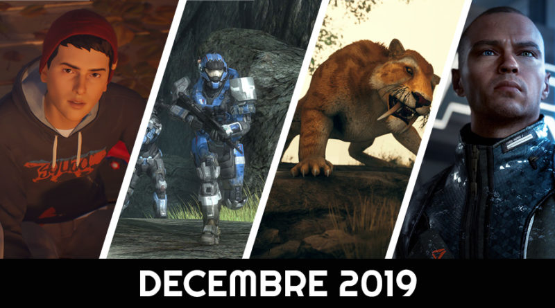 calendrier des sorties décembre 2019