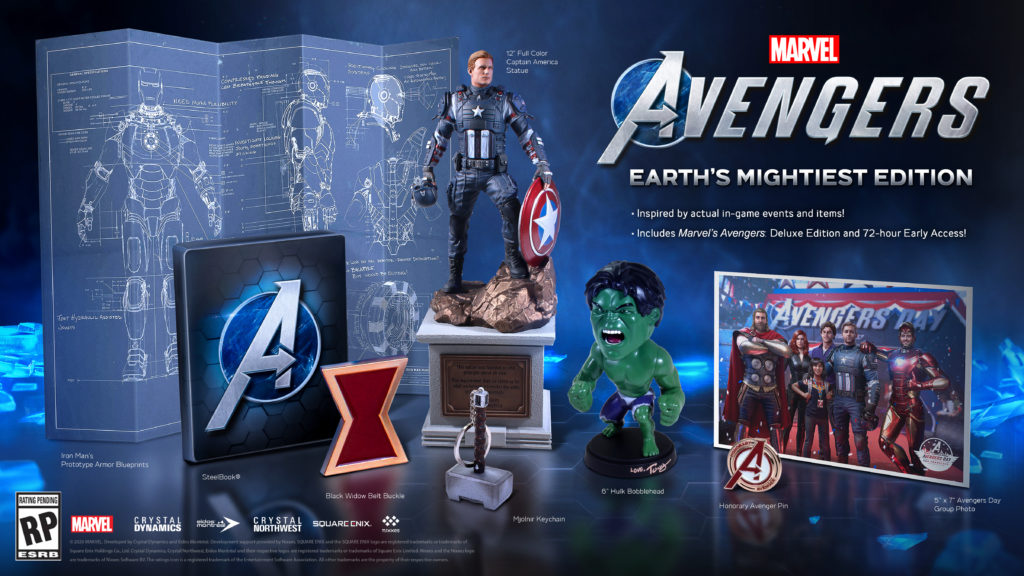 collector marvel's avengers