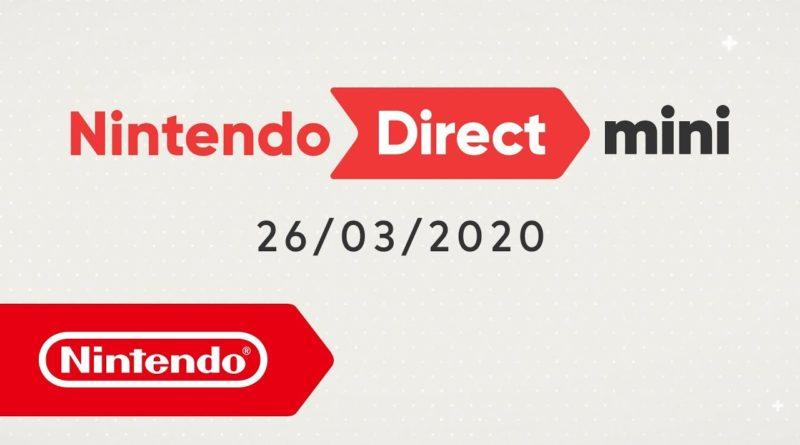 Nintendo Direct Mini 26/03/2020