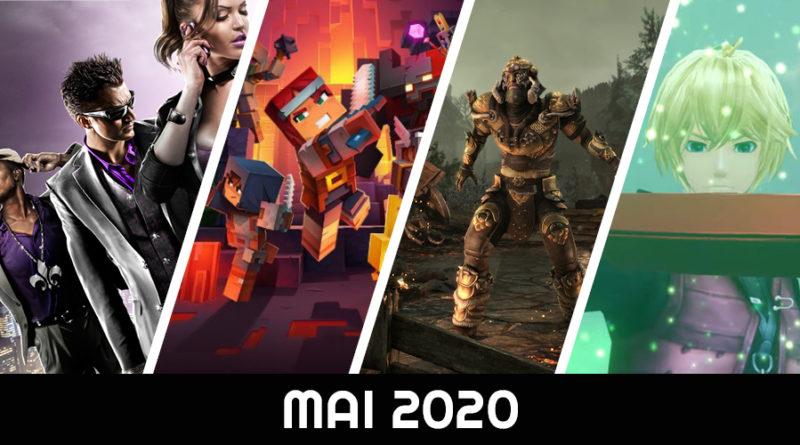 calendrier des sorties mai 2020