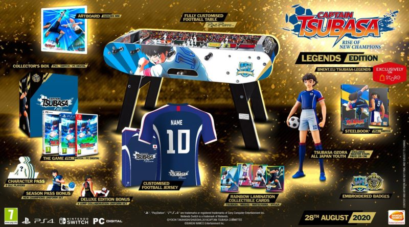 Captain Tsubasa Rise Of New Champions collector