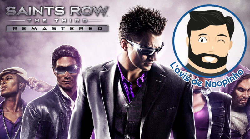 avis Saints Row The Third Remastered