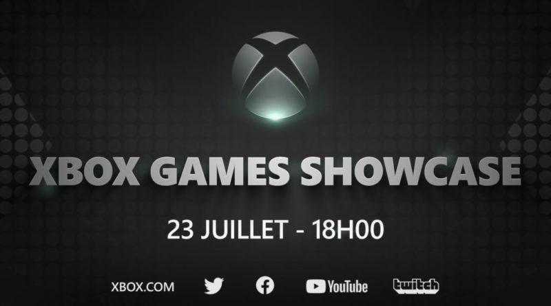 Xbox Games Showcase juillet 2020